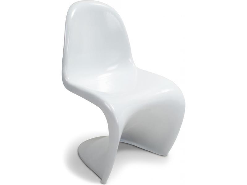 blanc Vente Chaise de PRÉCISÉ panton panton NON verner 2I9EDH