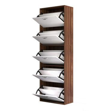 Armoire à chaussures meuble à chaussures design contemporain 5 ...