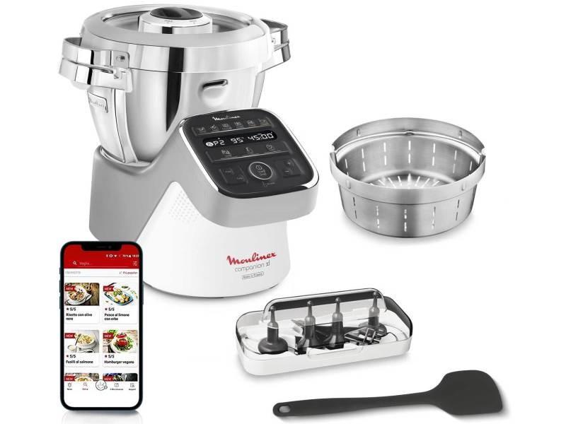 Robot multifonction cuiseur moulinex hf807e10 hf807e10