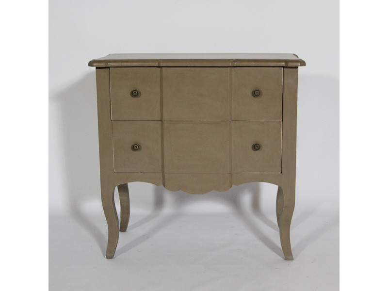 commode 2 tiroirs louis xv baroque srl2t brown conforama. Black Bedroom Furniture Sets. Home Design Ideas