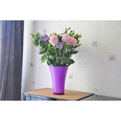 Vase fizzy violet 14 cm