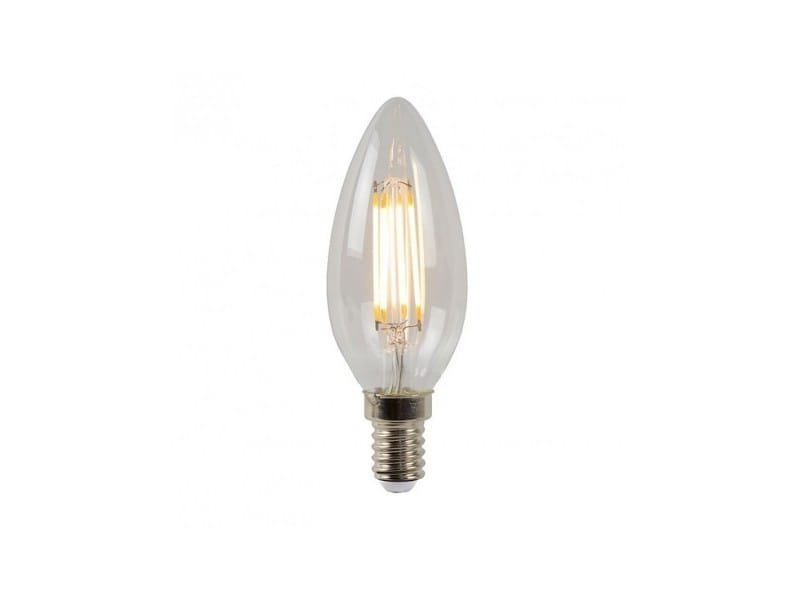 Ampoule led e14 4w/35w 2700k 320lm bougie filament dimmable