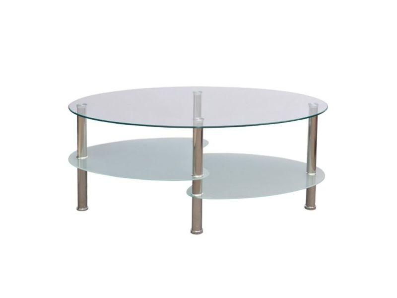 Vidaxl table basse avec design exclusif blanc 240508