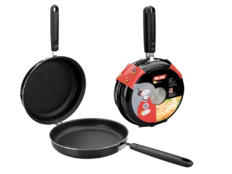 Poêle a omelette tous types de plaques diamètre 28 cms 405928