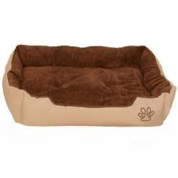 Coussin lit panier matelas pour chien 110 x 80 x 18 cm 3708047
