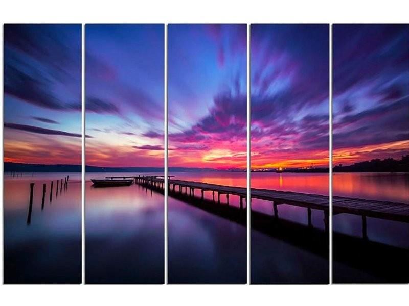 Tableau ciel plein de couleurs CAN/5-TYK-C/M_30758/100x70