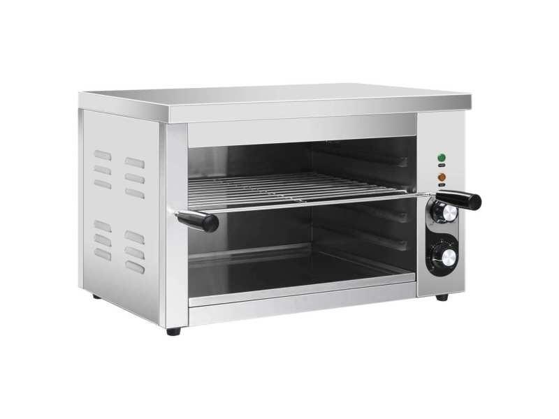 Inedit électroménager de cuisine reference managua salamandre gastronorm électrique 3000 w acier inoxydable