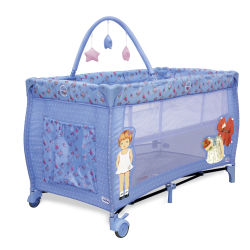 Lit parapluie avec arche Baby Fox Vintage Violet