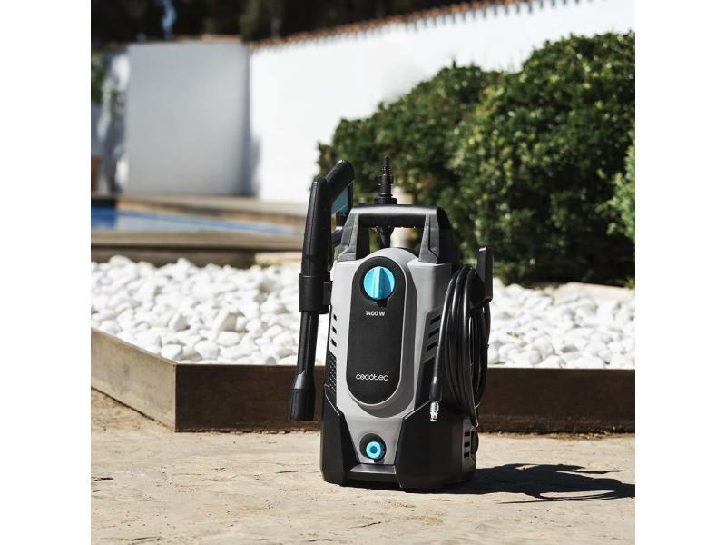 Nettoyeur haute pression 1400w noir gris bleu