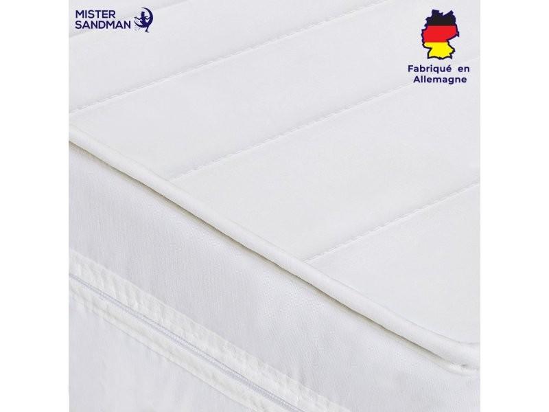 Matelas 90 x 190 cm matelas sommeil réparateur tout type de lits en mousse matelas 7 zones de confort, épaisseur 15 cm