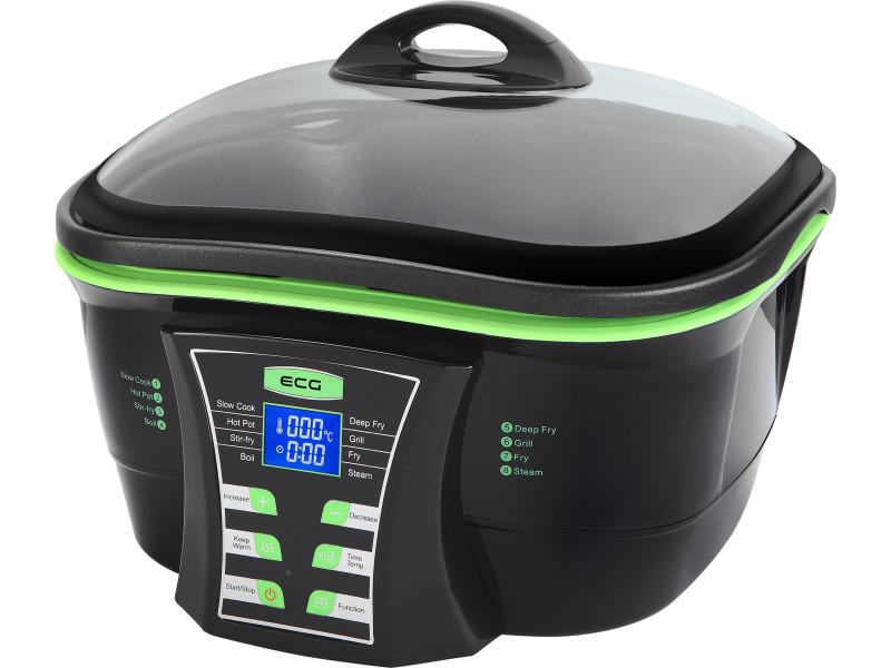 Ecg mh 178 - cuiseur multifonction - 5l - 5 types de cuisson - température de 50 à 240 degrès 8592131303256