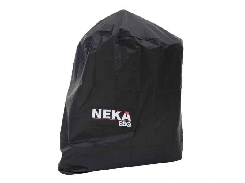 Housse de protection pour barbecue - l. 95 x h. 95 cm - noir