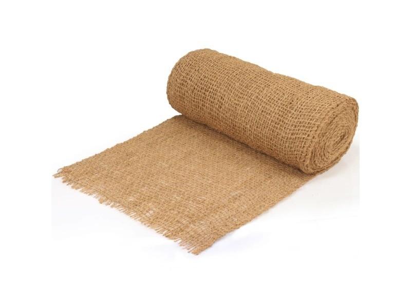 Vidaxl tapis de contrôle de l'érosion géotextile fibre de coco 1x20 m 132664