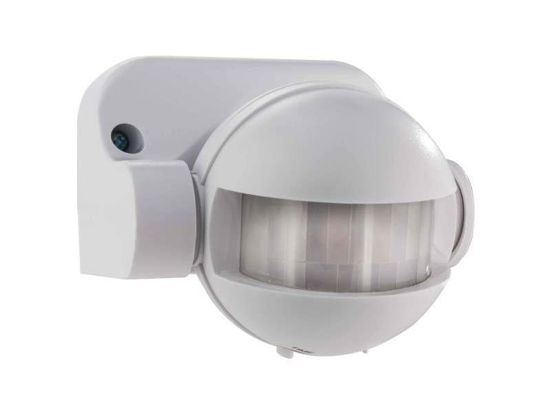 L'électricité détecteur de mouvement infrarouge. Couleur blanche. Allumage et extinction automatique