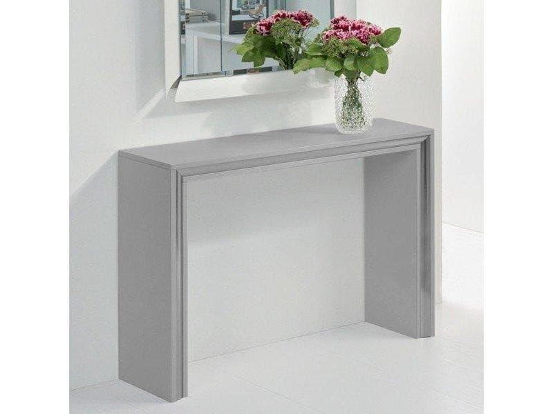 console design archimede grise 20100846609 vente de console conforama. Black Bedroom Furniture Sets. Home Design Ideas