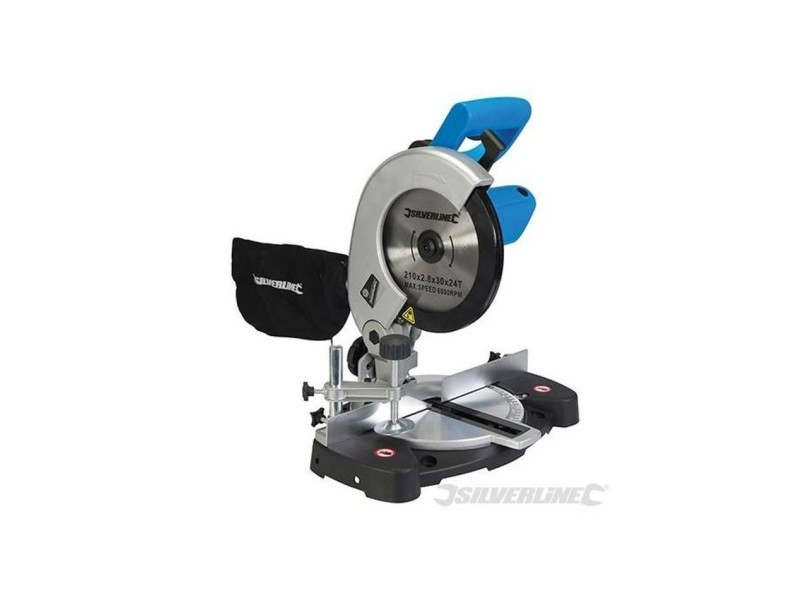 Scie radiale combinée 210 mm, 1 400 w AUC5024763125393