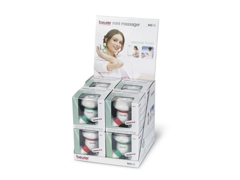 Beurer mini appareil de massage mg 16 pack
