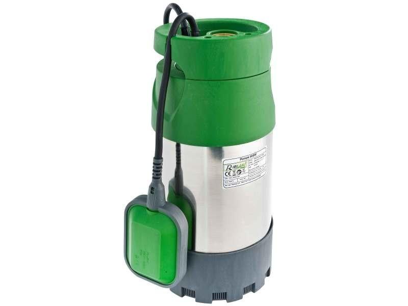 Arrosage pompe inox 800 w. Pompes eaux claires, pour puits profonds. Hauteur de refoulement jusqu'à