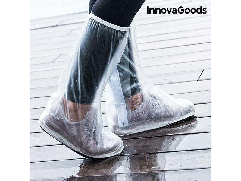 Surchaussure imperméable de poche (pack de 2) - protection réutilisable pour chaussures taille - s/m