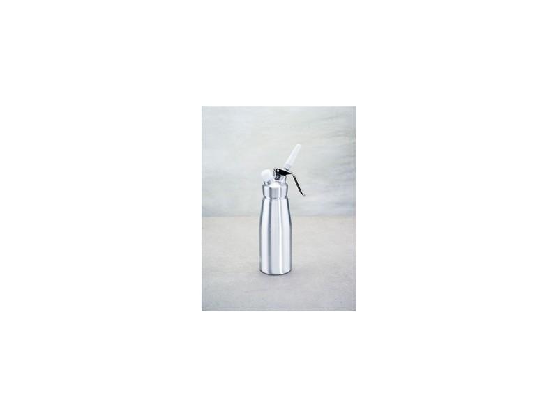 Siphon à crème en aluminium - 500 cl - argenté