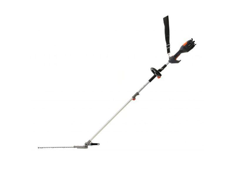 Dcraft | taille-haie électrique sur perche | puissance nominale 1000 w | longueur des ciseaux de coupe 410 mm | outil jardinage | noir