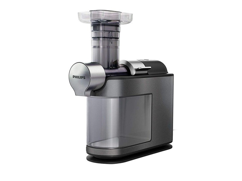 Philips avance collection extracteur de jus micromasticating gris métallisé 200w 1l hr1947/30