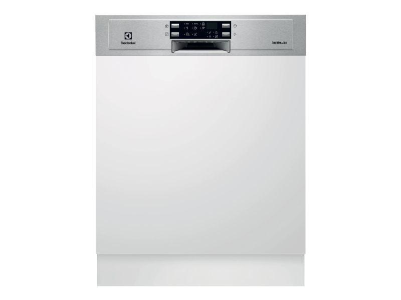 Lave-vaisselle 60cm 13c 44db a++ intégrable avec bandeau inox - esi5543lox esi5543lox