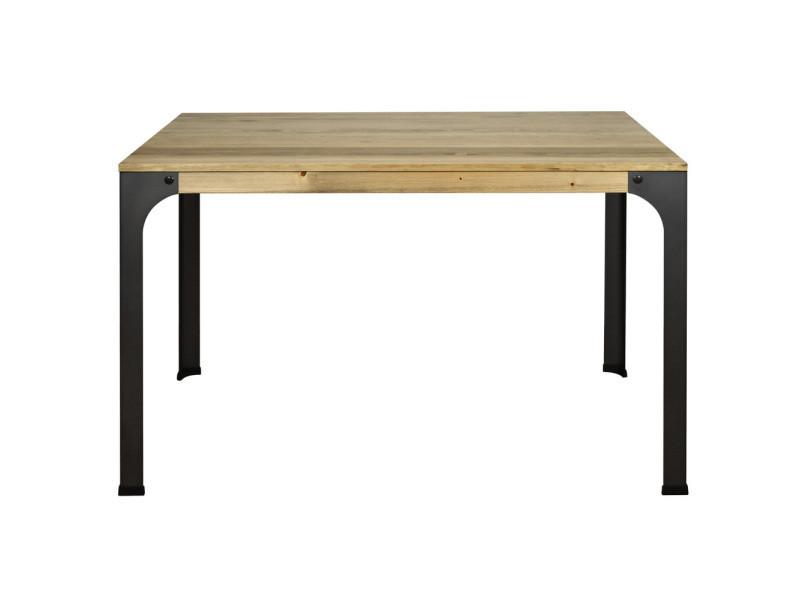 Table bureau bristol. Style industriel vintage 115x59x75 cm CCVB5911575 18 EV