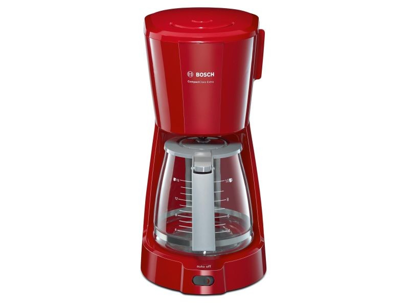 Cafetière rouge 15 tasses bosch - tka 3 a 034 BOS4242002717197
