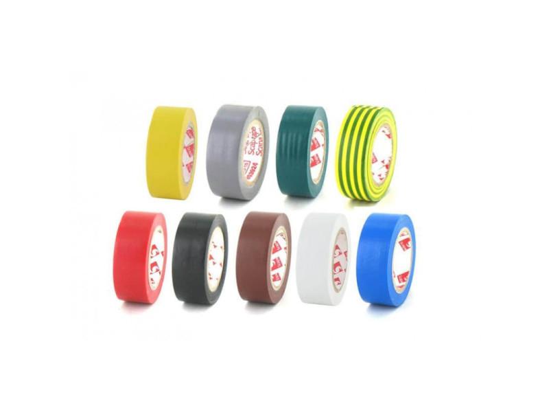 Pack 9 couleurs ruban adhésif 19 mm pvc électrique scapa 2702 9-couleurs-2702-19