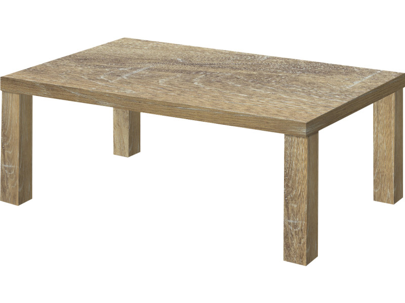 Table Basse Chene Sonoma.Table Basse Contemporain Chene Sonoma Marron En Bois Mdf 120
