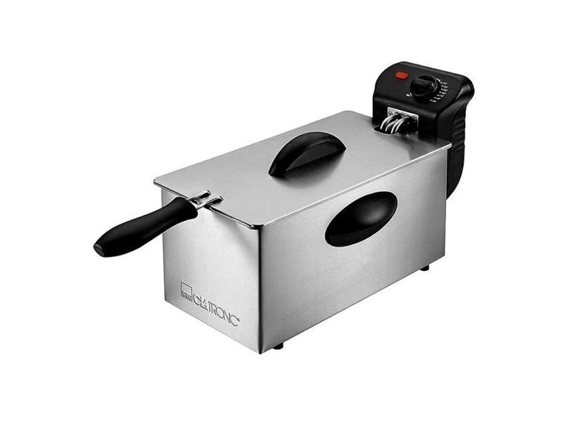 Friteuse en acier inoxydable 3 litres fr 3586 clatronic inox