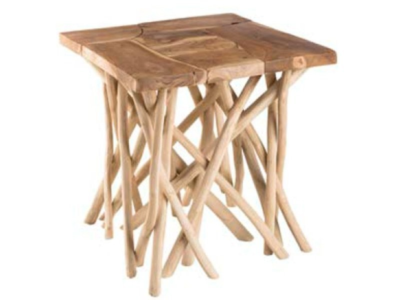Table d'appoint carrée clara 20100881923