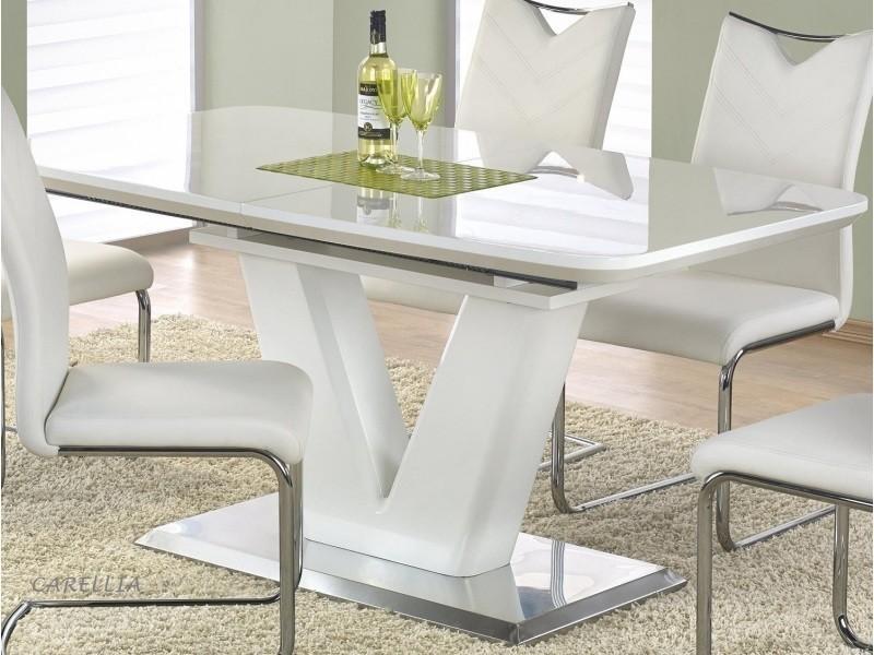 Table à manger extensible 160÷220 cm x 90 cm x 77 cm