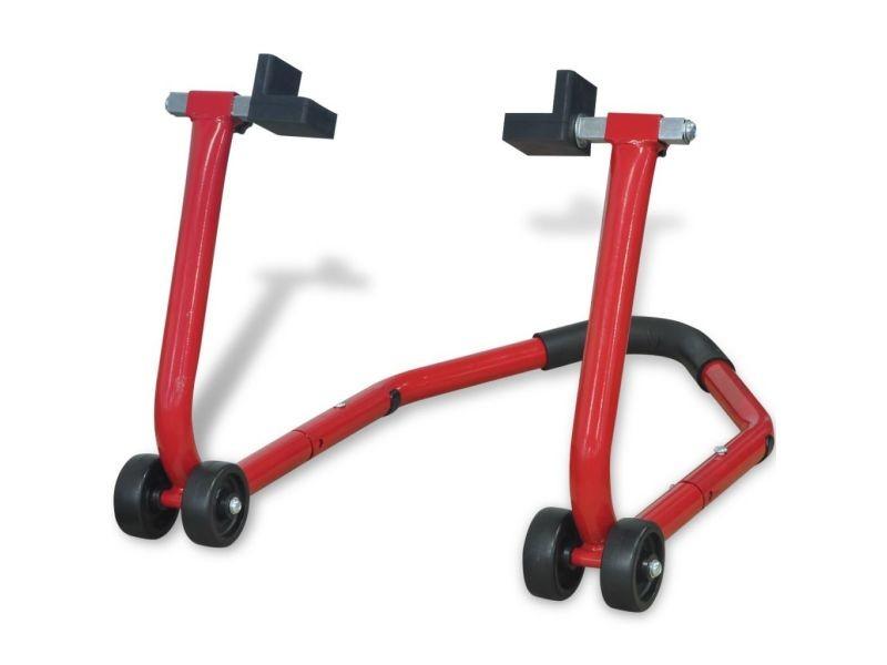 Distingué équipement de sécurité des véhicules collection panama support enclos arrière pour moto rouge