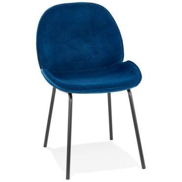 Paris prix chaise en velours & métal