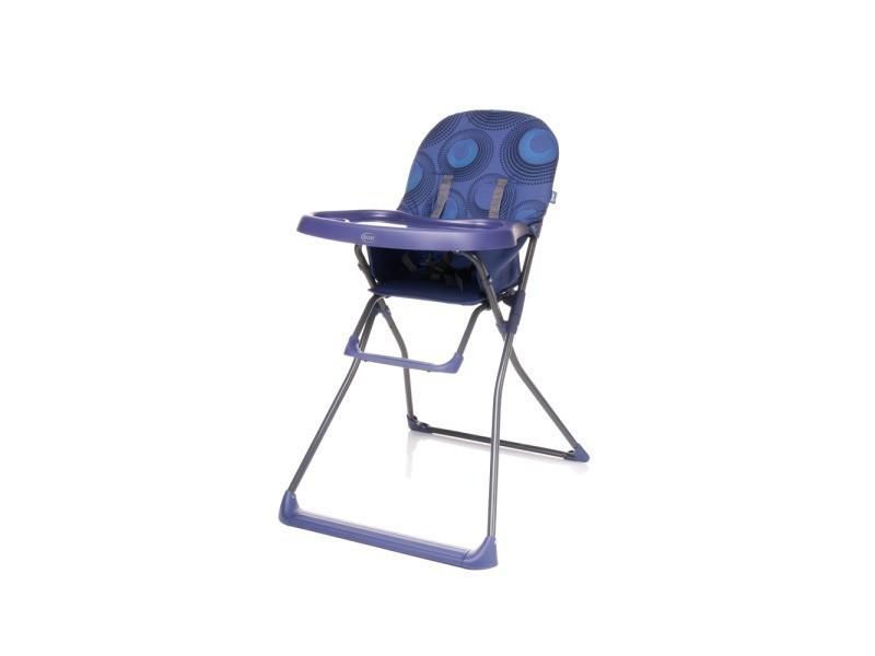 Flower chaise haute b b pliable et l g re avec plateau violet vente de 4baby conforama - Chaise haute bebe pliable ...