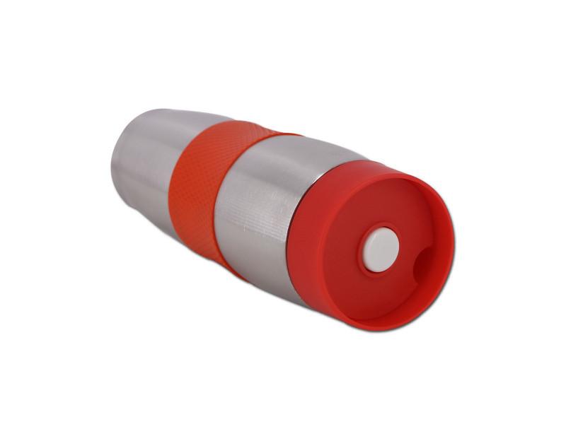 Cenocco cc-6000: tasse de voyage sous vide en acier inoxydable rouge