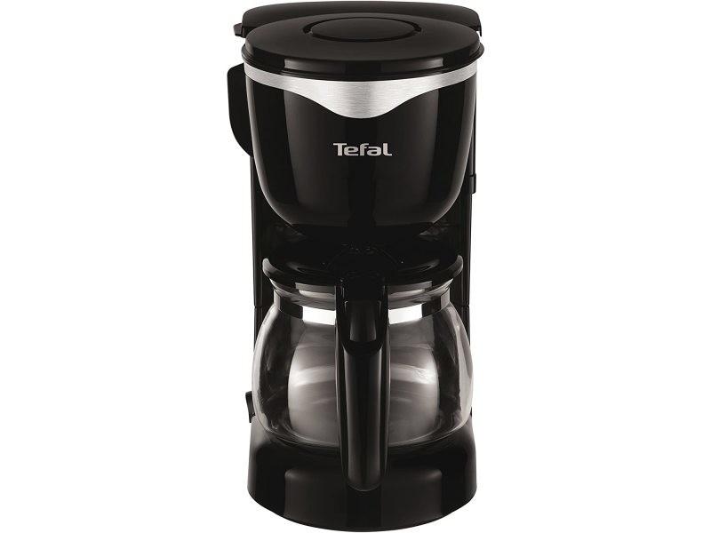Cafetière électrique de 0,6l pour 6 tasses noir