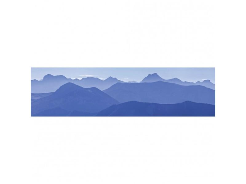 Brise vue 80% occultant chatillon bleu 300 x 80 cm - décoration extérieure brise vent de jardin, balcon ou terrasse