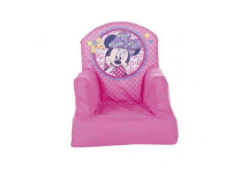 Fauteuil gonflable disney pour enfant au th me minnie mouse coloris rose vente de comforium - Fauteuil club minnie de disney ...