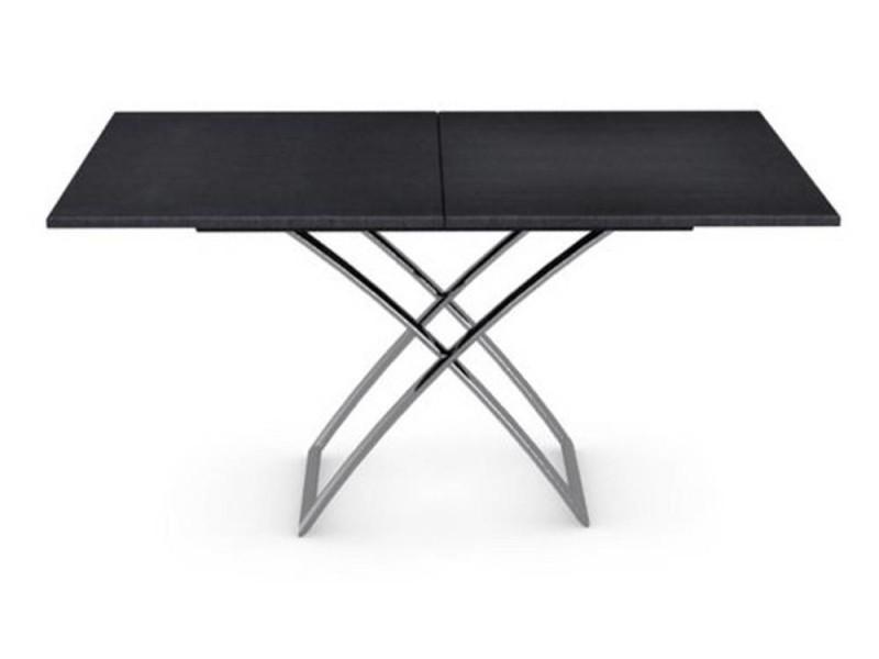 Table Basse Relevable Extensible Italienne Magic J Graphite