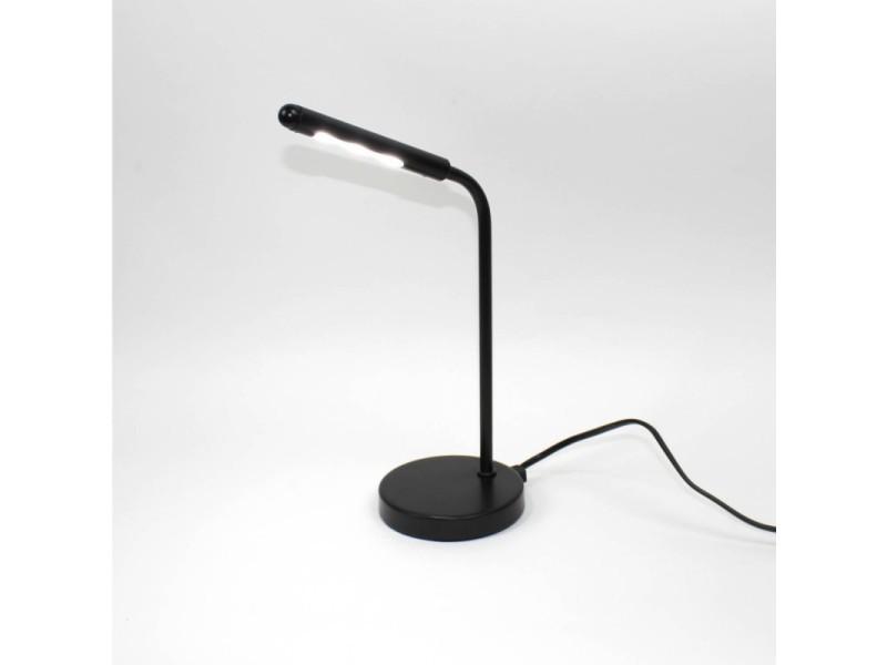 Lampe de bureau led noir rotative djedi vente de lampadaire