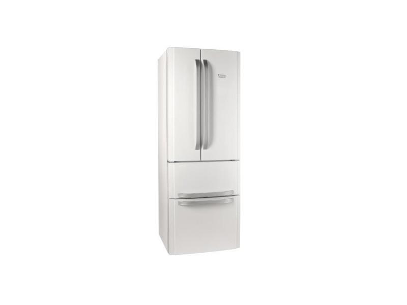 E4dwc1 - réfrigérateur multi-portes - 399l (292+107) - froid ventilé - a+ - l 70cm x h 195.5cm - blanc HOT8050147608142
