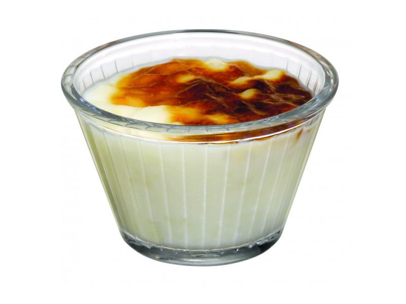 Ramequin pour crème brûlée 180 ml - lot de 24 - stalgast - 9,2 cm verre 18 cl