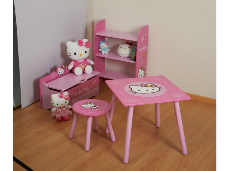 Finest perfect excellent voir en video with lampe de chevet hello kitty conforama with table de - Conforama lit hello kitty ...