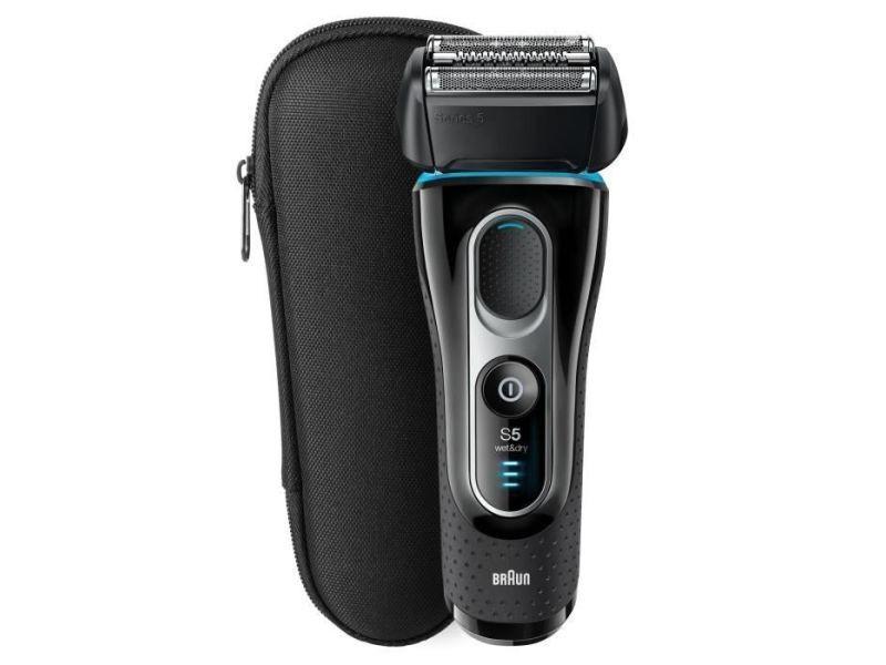 Braun series 5-5145 s wet+dry rasoir electrique - noir/bleu/chrome BRA4210201175469