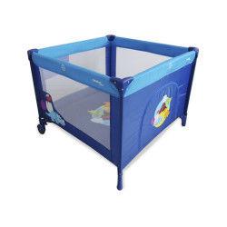 Parc pliant Baby Fox 100 cm x 100 cm Dinos Bleu