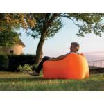 Fauteuil gonflable windbag mini orange