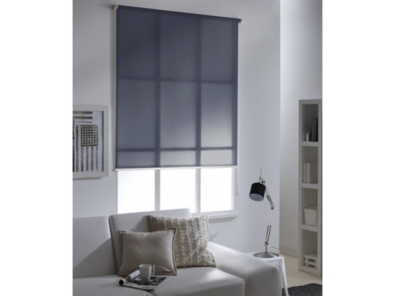 60 x 250cm l x h store enrouleur voile must motorisable gris anthracite vente de madeco. Black Bedroom Furniture Sets. Home Design Ideas